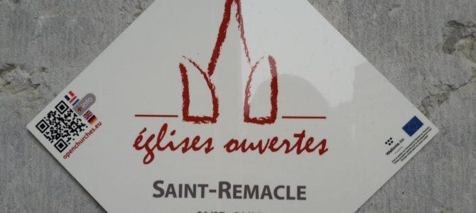 « Eglises ouvertes » à Saint Remacle tous les dimanches de juillet et août de 14 à 17h